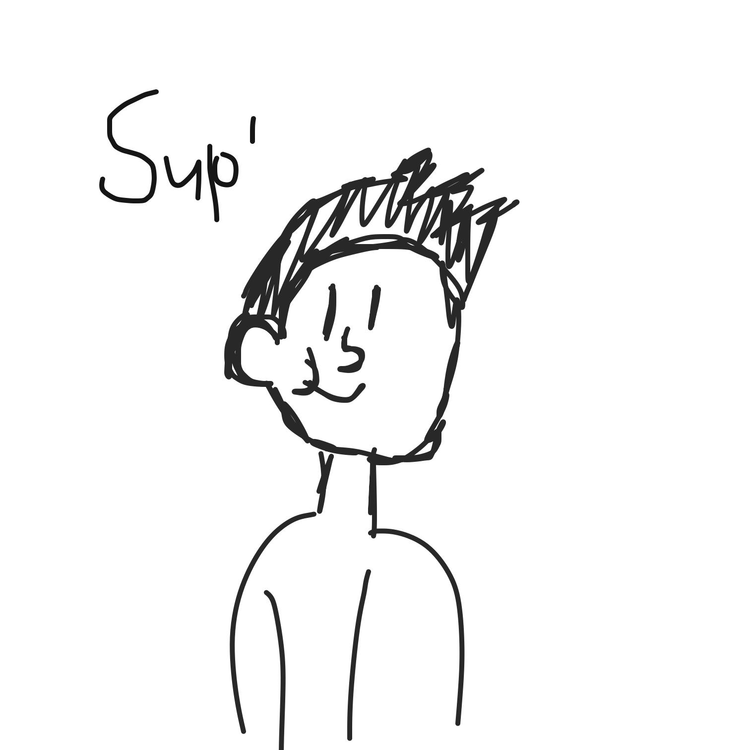 Drawing in Lol by LizardPie34