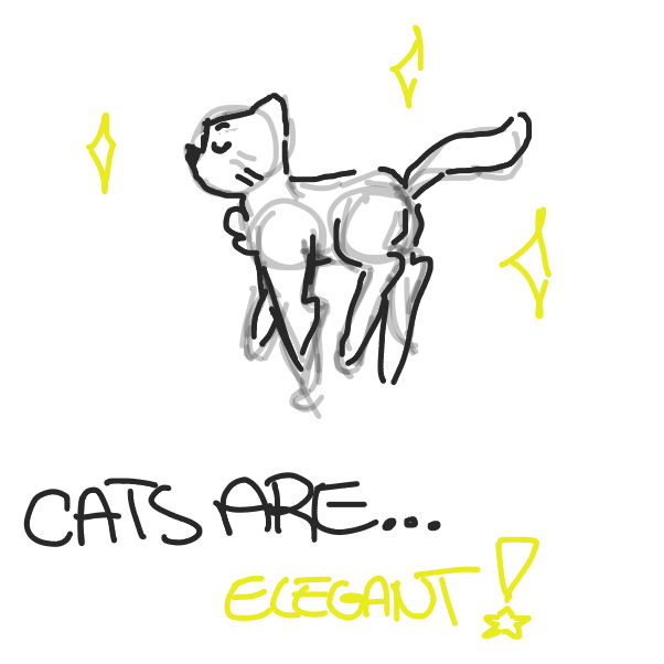 Drawing in Cats are... by Fennec