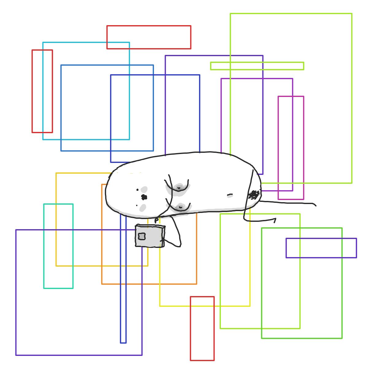 Drawing in Sleep by Potato Man