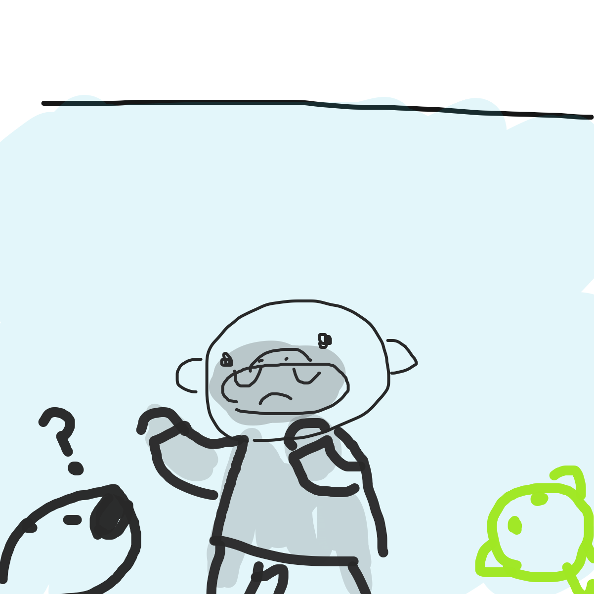 *heavy breathing* - Online Drawing Game Comic Strip Panel by KingOfSpades2