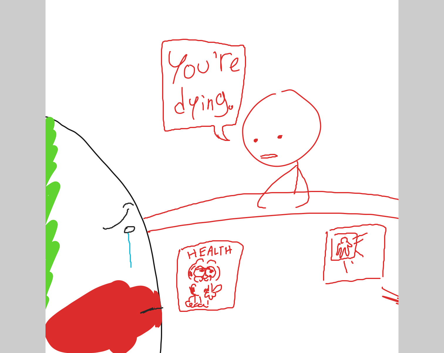 - Online Drawing Game Comic Strip Panel by CurlyCheddar