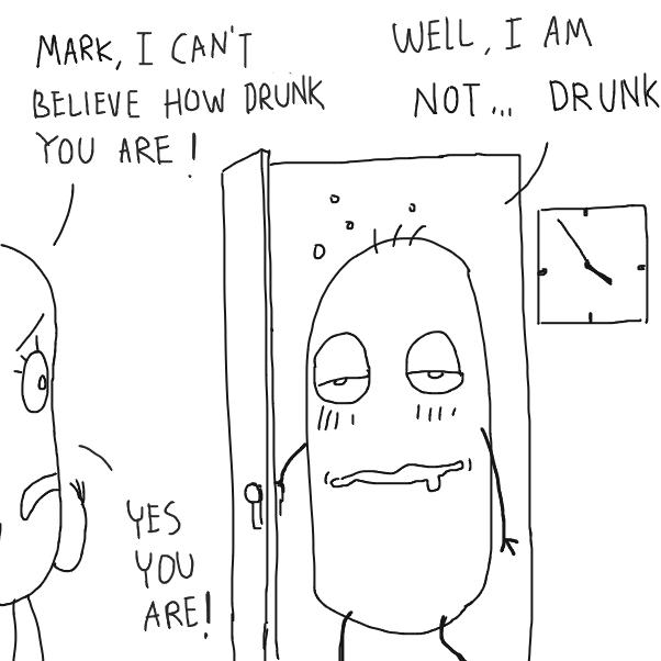 Liked webcomic Drunk