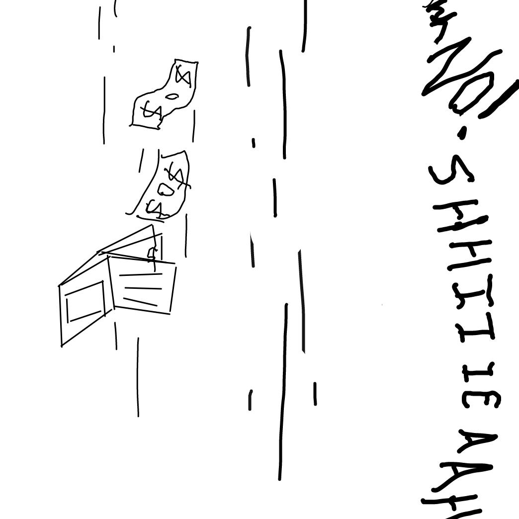 Drawing in AAHHHHHH by Brandon