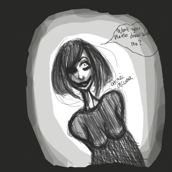 Drawing in please by Akaei Akuma