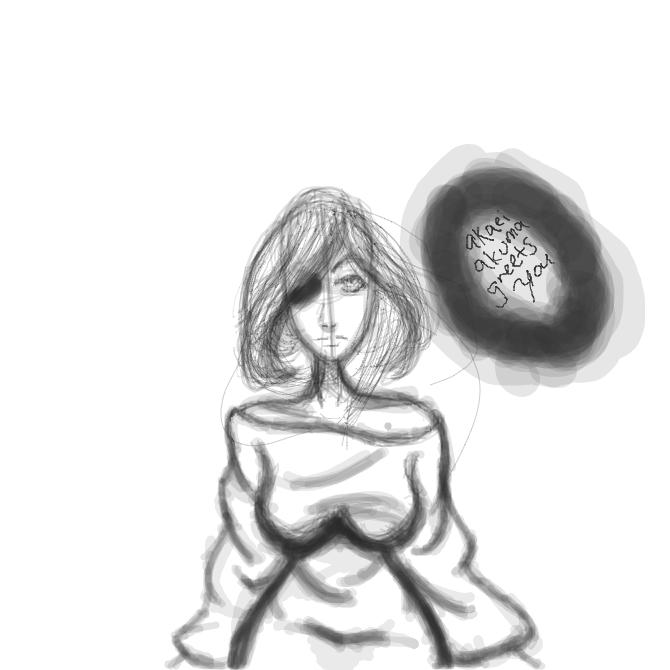 Drawing in draw with me someone  by Akaei Akuma