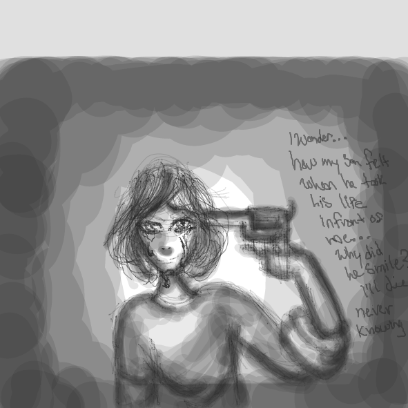 Drawing in survive by Akaei Akuma