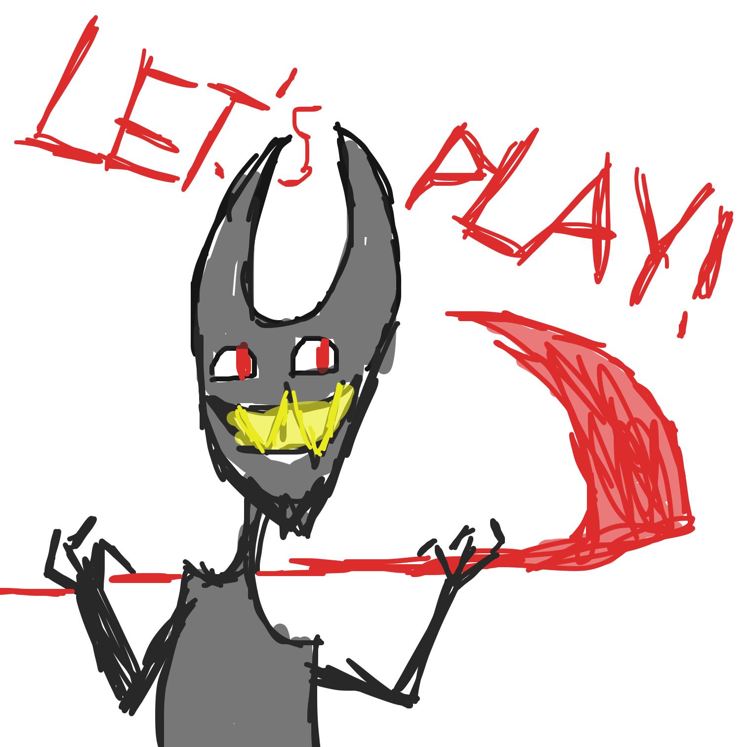 Drawing in Destructive  by LizardPie34