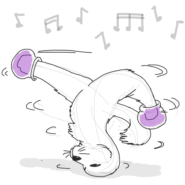 Drawing in when you jammin' by Fathur