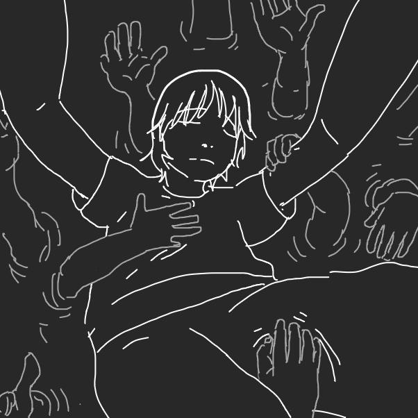 Drawing in Feels like falling  by Fathur