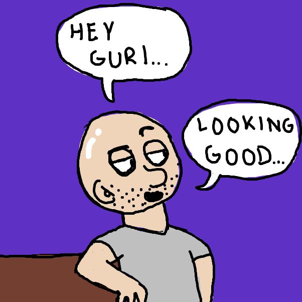 Drawing in hey gurl by AnnenasComics