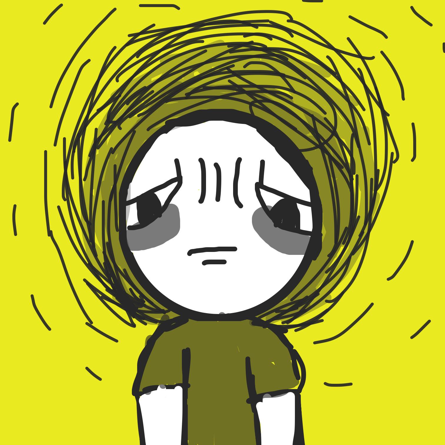 Drawing in Drop dead, depression! by LizardPie34