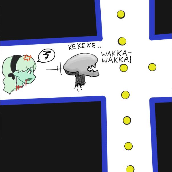 WAKKA WAKKA WAKKA - Online Drawing Game Comic Strip Panel by Buckawn