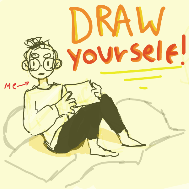 Drawing in draw yourself! by elliebean