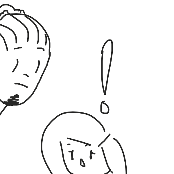 Ooh - Online Drawing Game Comic Strip Panel by Chunky Squelch