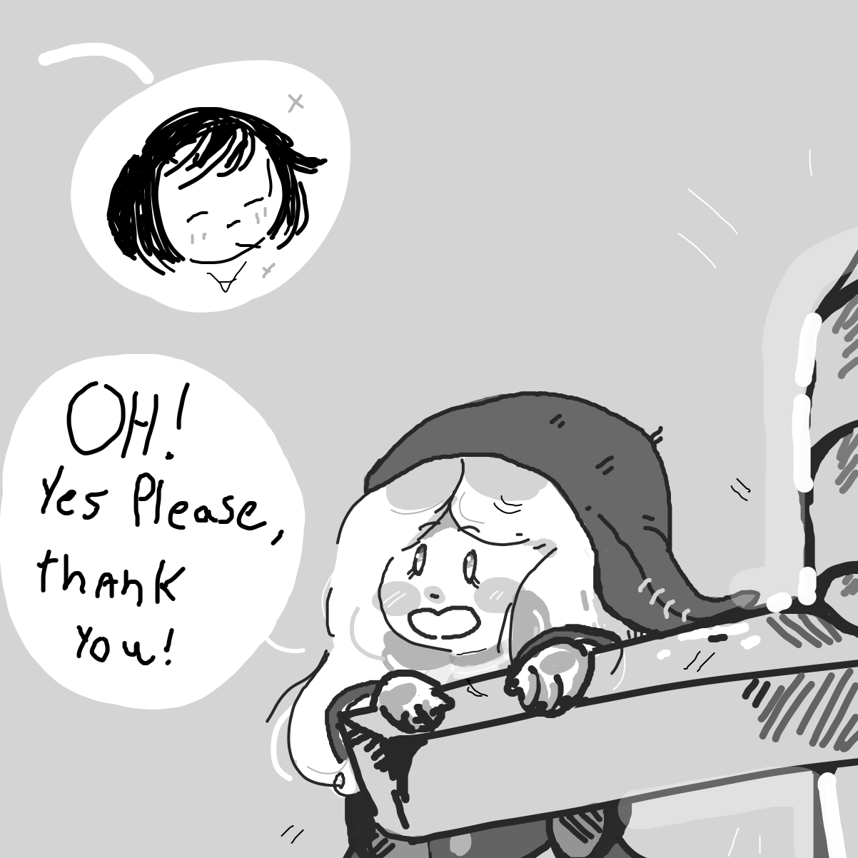 Drawing in big sword by TheButter