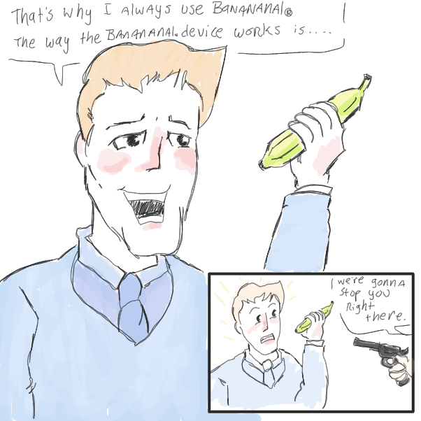 Drawing in bananaaaaa by WizardCroissant
