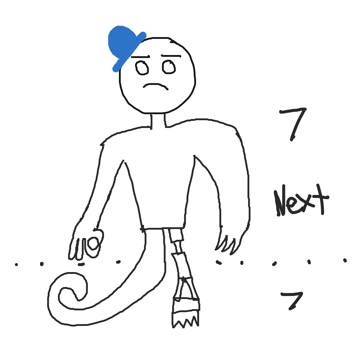 Drawing in Add Body parts limb by limb by SamMcJam