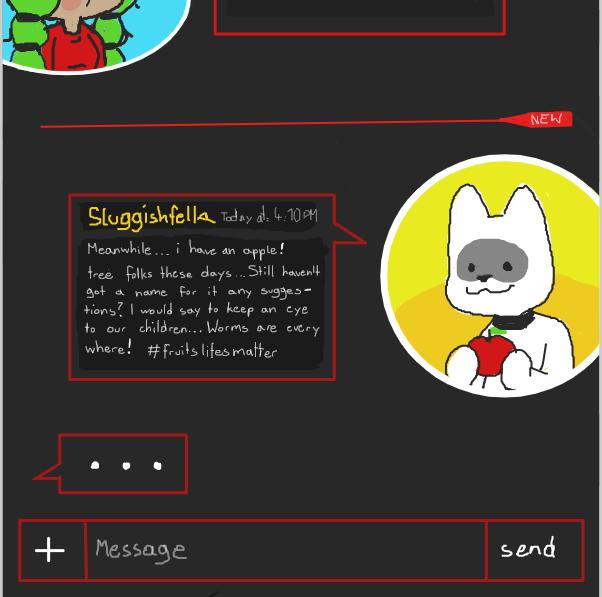 Drawing in PanelChat by SluggishFella