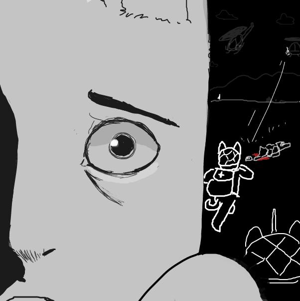 Drawing in i dont believe by SluggishFella
