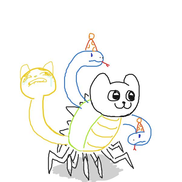 Drawing in Animal abomination by SluggishFella