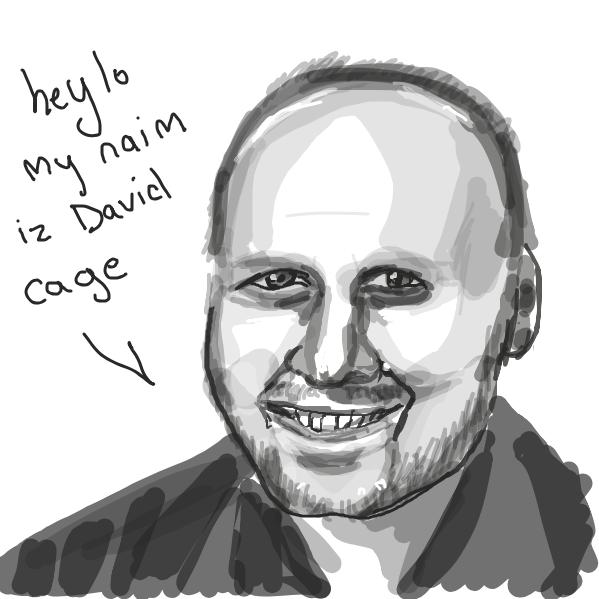 Drawing in David by Mojomos