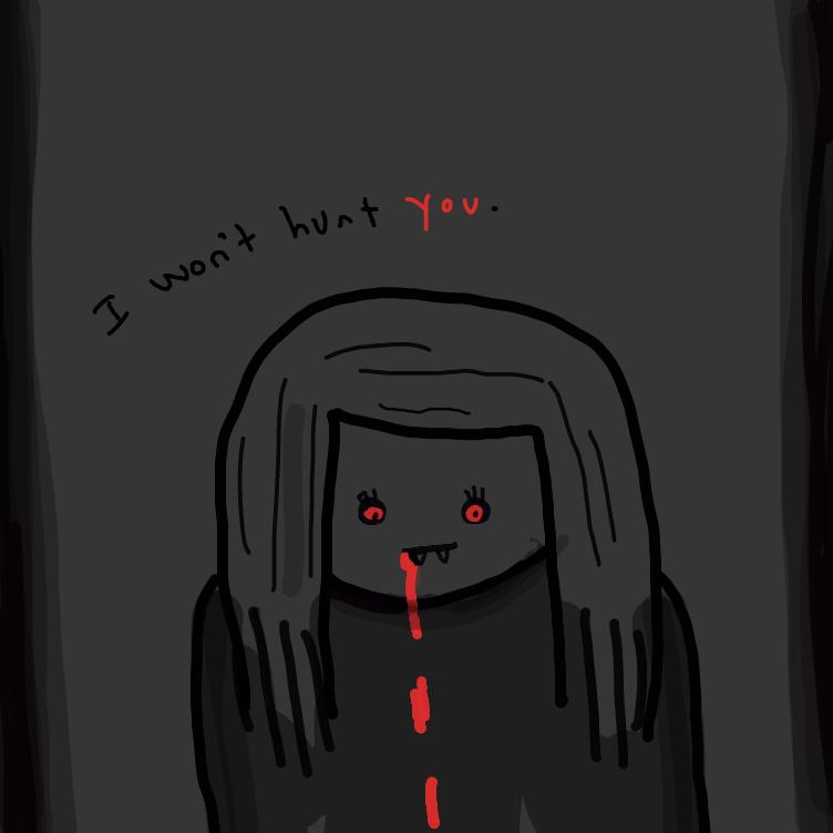 Drawing in vampir by niania