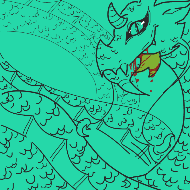 Drawing in Dragon  by SSR scorpia
