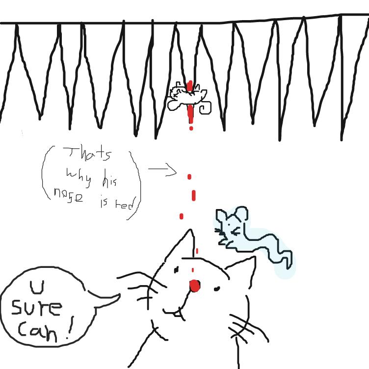 BYE BYE MR MOUSE - Online Drawing Game Comic Strip Panel by FetusJesus