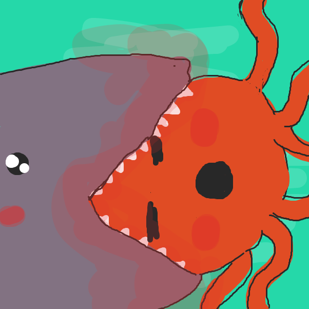 Drawing in Undersea Romance by Izzaro21