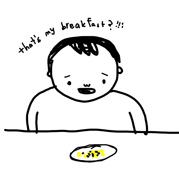 Drawing in THATS MY BREAKFAST? by niania
