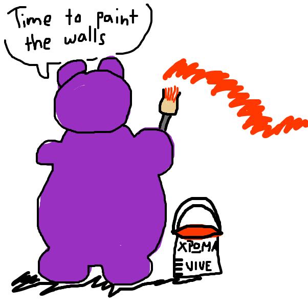 Drawing in Harvey Hippo by SteliosPapas
