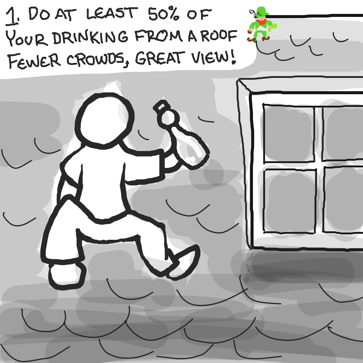 - Online Drawing Game Comic Strip Panel by Buzzinski