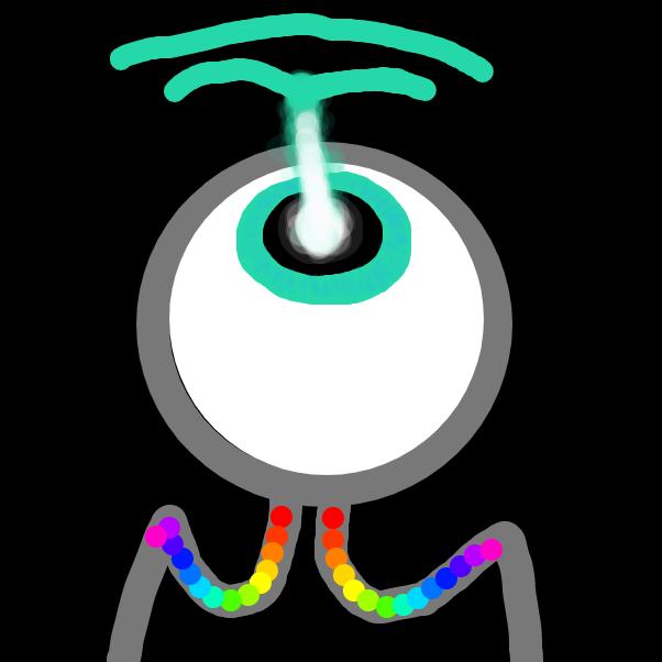 The eye - Online Drawing Game Comic Strip Panel by ItzAki