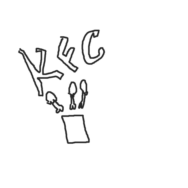 "Drawing in ""Did Somebody Say ____?!""  ( ͡° ͜ʖ ͡°) by Panels4Days(OrNot)"