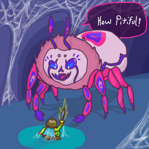 Drawing in Spooder by xavvypls