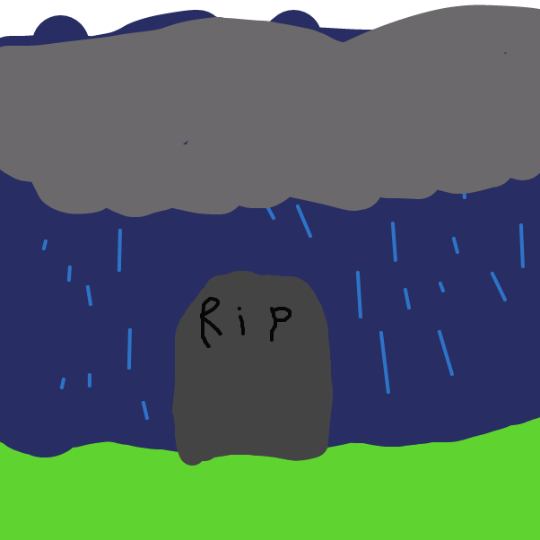 She died - Online Drawing Game Comic Strip Panel by Monkey_HugLuv