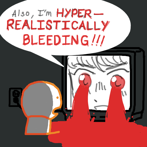 my eyes for real tho drawing this - Online Drawing Game Comic Strip Panel by nooz