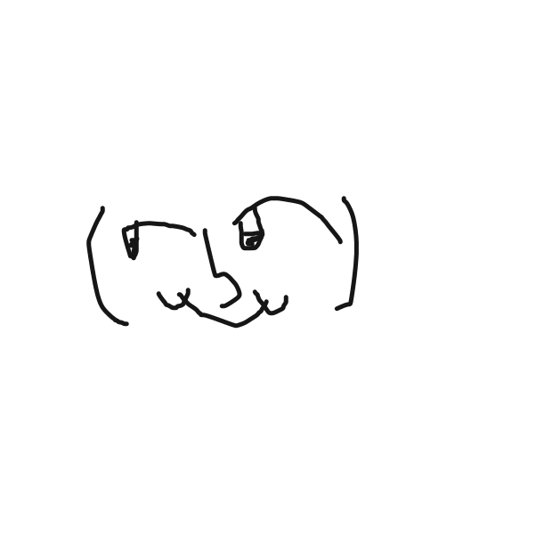 Drawing in lenny face by LizardPie34