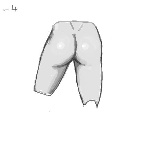 Drawing in Random Butt Refrance Sheet by Karosh