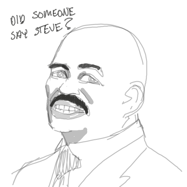 > steve harvey - Online Drawing Game Comic Strip Panel by ironically horny