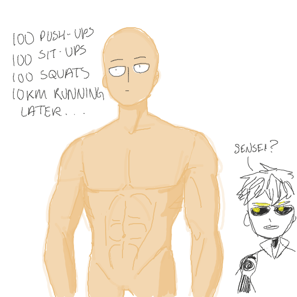 i think i ruined the comic but i had to... opm hyype - Online Drawing Game Comic Strip Panel by ironically horny