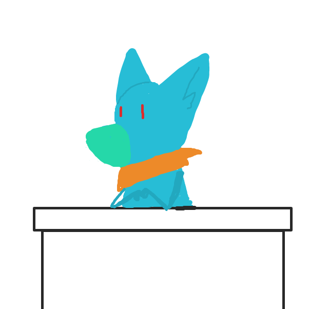 First panel in Ask Me The Stuff drawn in our free online drawing game