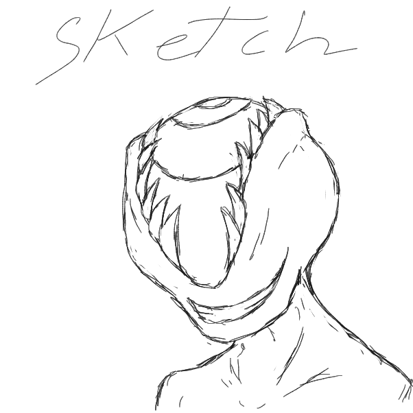 First panel in creepy drawn in our free online drawing game