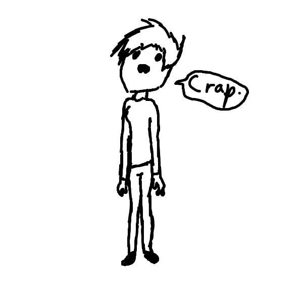 First panel in People drawn in our free online drawing game