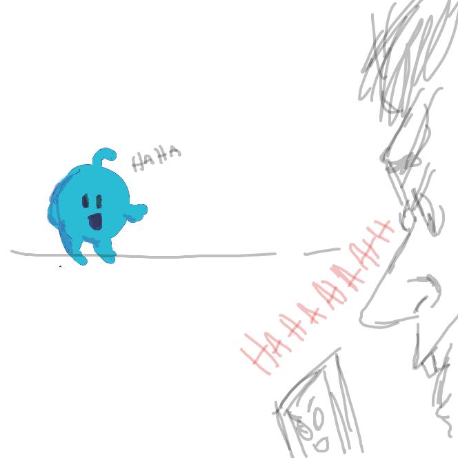 Drawing in heheh by Saltedice