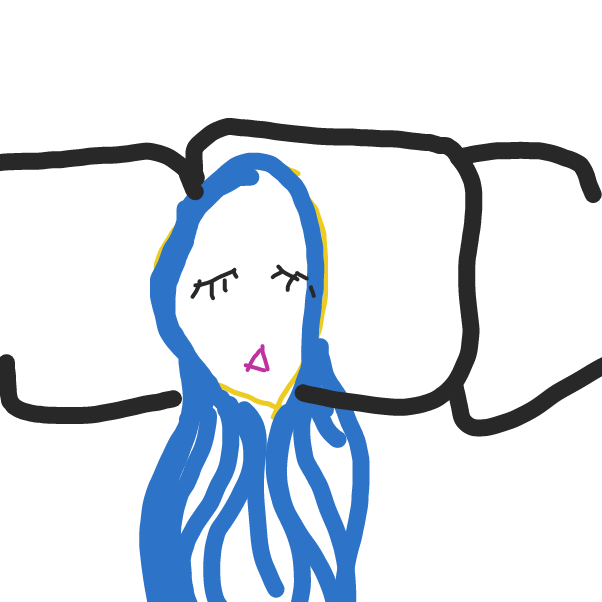 Drawing in Itsfunneh by Andrea