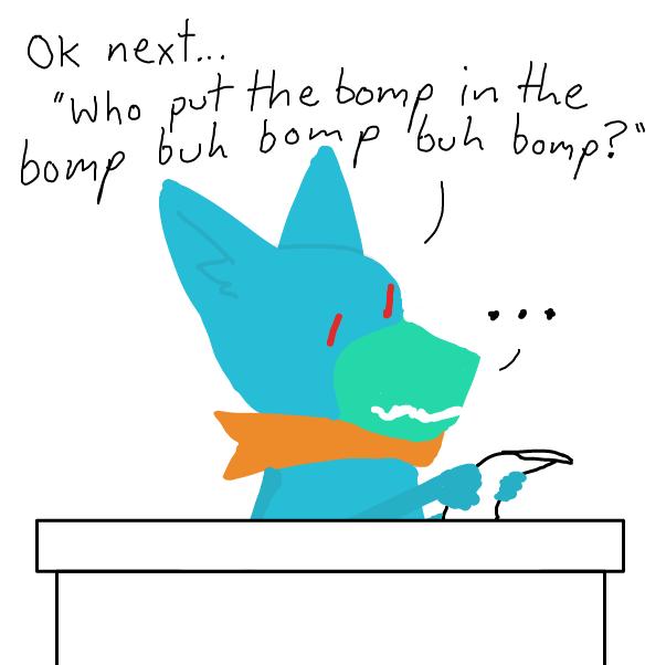 Drawing in Ask Me The Stuff by Buckawn