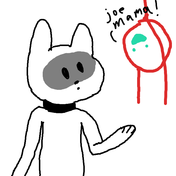 Drawing in Who's Joe v2 by KinohASCENDED