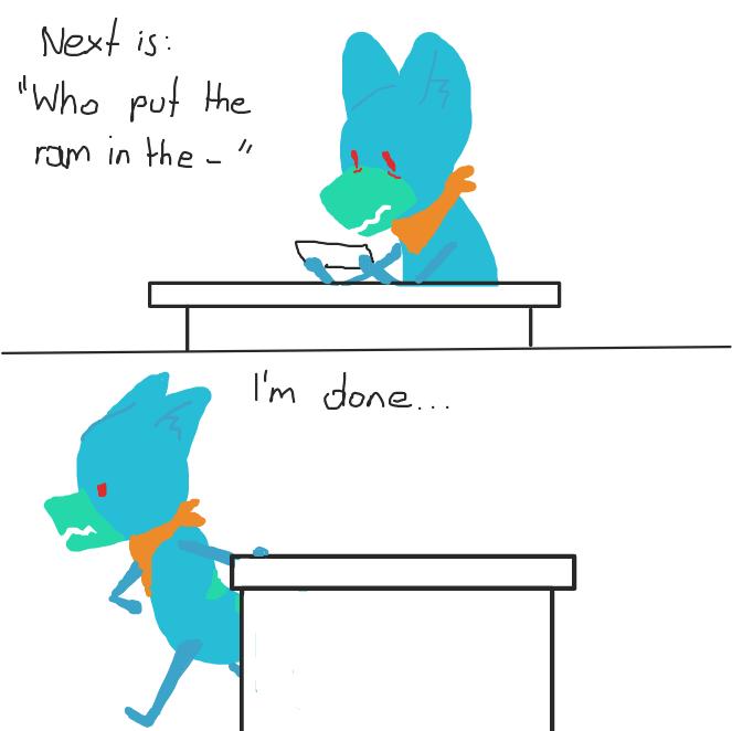 Drawing in Ask Me The Stuff by SluggishFella