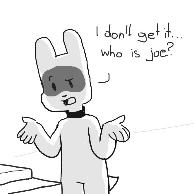 Drawing in Who's Joe v2 by SluggishFella
